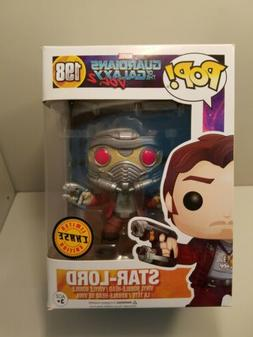 Funko Marvel Guardians of the Galaxy 198 Star-Lord Chase Pop