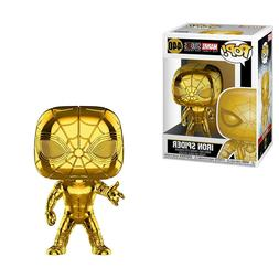 Funko Marvel Stud10s POP Iron Spider Chrome Vinyl Figure NEW