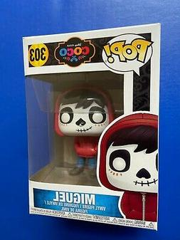 miguel pop vinyl figure 303 disney pixar