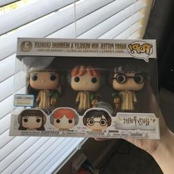 MINT Harry Potter, Ron Weasley & Hermione Granger Funko Pop!