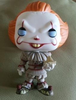 Funko Movies Stephen King's It PENNYWISE CLOWN with Boat Pop