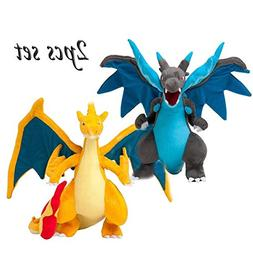 Panamat Movies & TV - 2pcs Anime Mega Evolution Charizard X