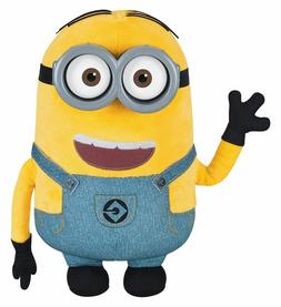 NEW Despicable Me Minion Dave Plush with Pop-Out Eyes Toy Fi