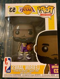 NEW Funko POP Lebron James NBA Los Angeles Lakers Vinyl Figu