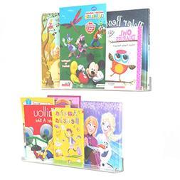 Wallniture Nursery Room Décor Book Storage Shelves Acrylic