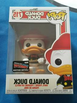 NYCC 2019 *Official* Funko Pop! Disney Firefighter DONALD DU