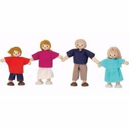 Plan Toys Wooden Doll Family - Caucasian