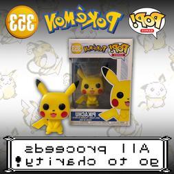 Pokemon Funko Pop Vinyl Figure Pikachu #353 - Free Shipping!
