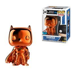 Funko Pop! 2018 NYCC DC Super Heroes Batman Orange Chrome Fi