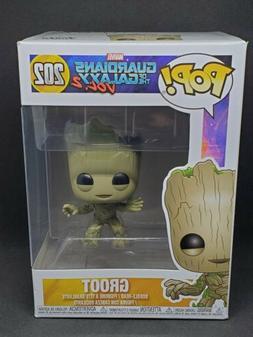 Funko POP 202 Guardians of The Galaxy V2 Baby Bobble Head Gr