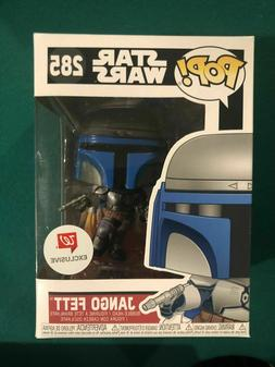 pop 285 star wars jango fett vinyl