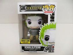 Funko POP! 362 Movies Beetlejuice Flannel Shirt Hot Topic Ex