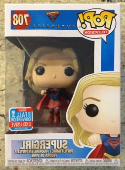 Funko Pop 708 Supergirl 2018 Fall Convention Exclusive Vinyl