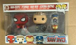 Funko POP! 7604 Marvel Captain America 3: Civil War 4 Pack V