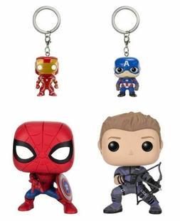 Funko POP! 7604 Marvel Captain America 3: Civil War 4 Pack V