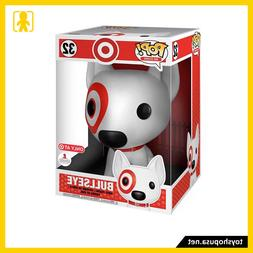 "Pop Add Icons Bullseye 10"" Target Exclusive Vinyl Figure Fun"