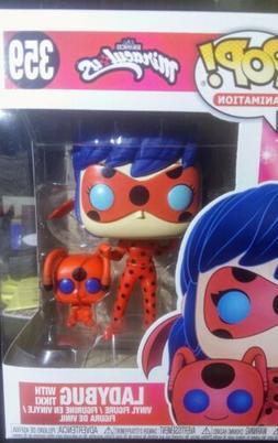 Funko Pop and Buddy: Miraculous-Ladybug with Tikki Collectib