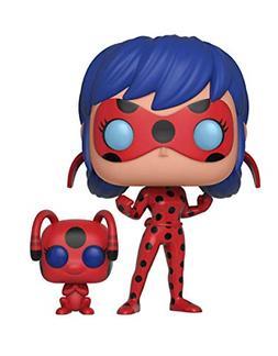 POP and Buddy Miraculous Ladybug with Tikki Collectible Figu