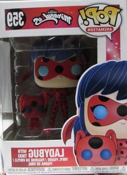 Funko POP and Buddy Miraculous Ladybug with Tikki Collectibl