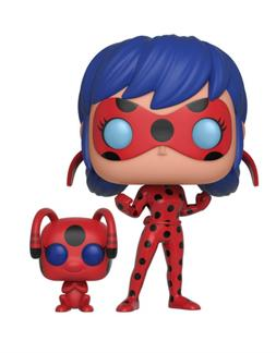 Funko POP! and Buddy: Miraculous Ladybug with Tikki Collecti