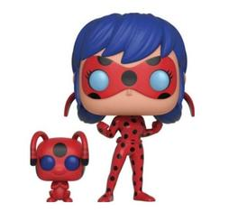 POP! and Buddy: Miraculous Ladybug with Tikki Collectible Fi
