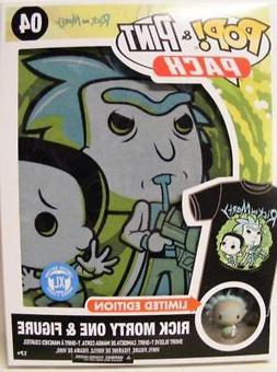 FUNKO POP & PINT 04 RICK & MORTY w/FIGURE T-SHIRT SIZE XL XL