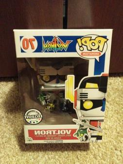 Funko Pop animation 2016 Convention Exclusive Metallic Voltr