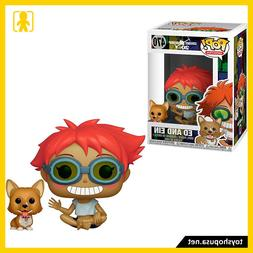 Pop Animation Cowboy Bebop Ed And Ein #470 Vinyl Figure Funk