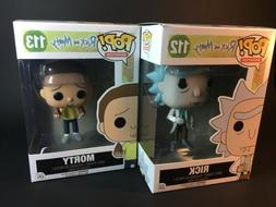 Funko Pop Animation Rick and Morty 112 + 113 Action Vinyl Ac