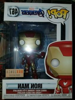 Funko Pop! Avengers End Game Iron Man Boxlunch Exclusive Vin