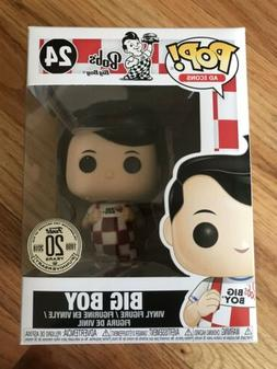 Funko Pop Bob's Big Boy #24 w/ 20th Anniversary Sticker New