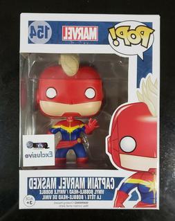 Funko Pop! Captain Marvel Masked GTS Exclusive #154 Vinyl Fi