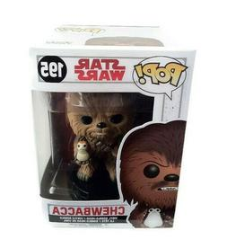 Funko Pop Chewbacca 195 Star Wars Vinyl Figure Bobble Head F