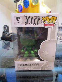 Funko Pop Custom DIY - Pop Female ECCC Emerald City Brand Ne