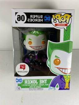 Funko Pop DC Super Heroes Black Suit Joker #06 Walgreens Exc