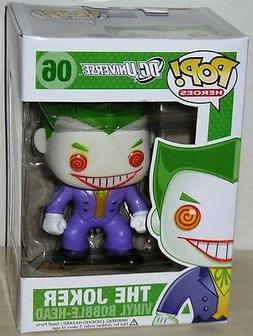 FUNKO POP DC UNIVERSE THE JOKER #06 VARIANT BOBBLE HEAD Viny
