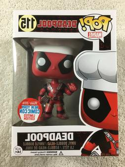 Funko Pop! Deadpool Chef Thumbs Up NYCC Exclusive #115 Marve