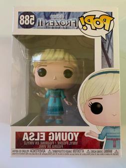 Funko Pop Disney Frozen 2 Young Elsa #588 Vinyl Figure NIB