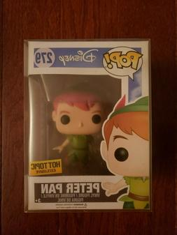 !Funko Pop Disney Hot Topic Exclusive PETER PAN Vinyl Figure