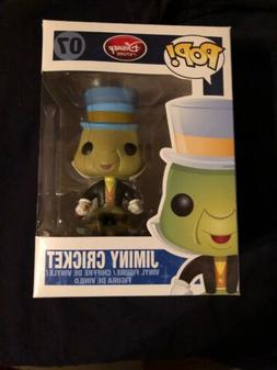 "FUNKO POP DISNEY JIMINY CRICKET #07 RETIRED VINYL 3 3/4"" FIG"