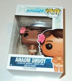 Funko Pop! Disney Moana Young Moana #215 Retired Vaulted Fig