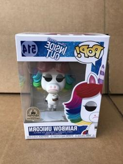 Pop Disney Parks Pixar Inside Out Rainbow Unicorn Vinyl Figu