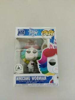 Pop Disney Parks Pixar Inside Out Rainbow Unicorn Vinyl Figu