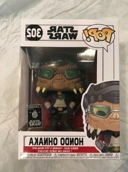 Funko Pop Disney Star Wars Galaxy's Edge Hondo Ohnaka #302