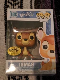 Funko Pop! Disney Treasures Exclusive Bambi #351 Figure On I