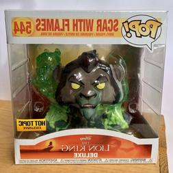 Funko Pop! Disney - Villains The Lion King Scar With Flames