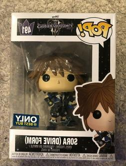Funko Pop! Exclusive Kingdom Hearts Sora Drive Form Vinyl Fi