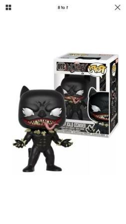 Funko POP EXCLUSIVE Venomized Black Panther #370 Marvel Veno