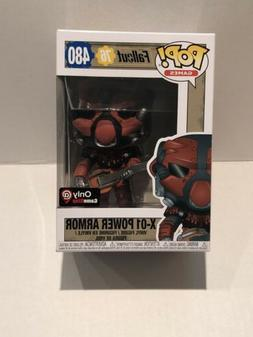 Funko POP! Fallout 76 X-01 Red Power Armor Gamestop Exclusiv