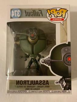 pop fallout assaultron vinyl figure 374 nib